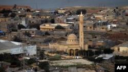 Le village de Ras al-Hilal, situé à 240 km à l'est de Benghazi en Libye le 9 janvier 2019.