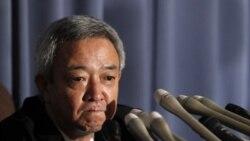 وزير بازسازی ژاپن استعفا داد
