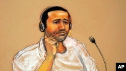 Abd al-Rahim al-Nashiri appears in court Nov 9, 2011