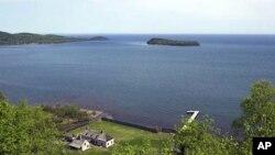 아름다운 호수들로 유명한 미네소타주