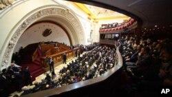"""Maduro destacó en días pasados la importancia para la llamada """"Revolución"""" del control político del parlamento."""