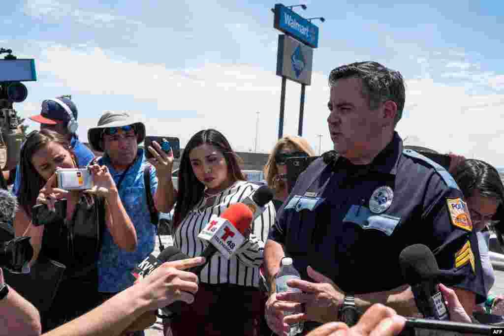 mass shooting at a Walmart in El Paso, Texas