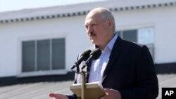 Shugaban Belarus, Alexander Lukashenko