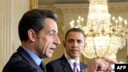 Nicolas Sarkozy Washington'da Başkan Obama'yla Görüşecek