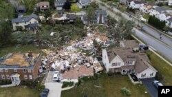 Сезон торнадо у Північній Америці. Відео