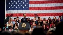 پرزيدنت اوباما از کارايی برنامه اقتصادی دولت دفاع ميکند