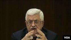 Presiden Palestina Mahmoud Abbas menuduh Israel menentang panduan internasional untuk perdamaian dan menggagalkan pembicaraan perdamaian.