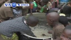Food supplies are short for refugees who have fled from DR Congo to Uganda.