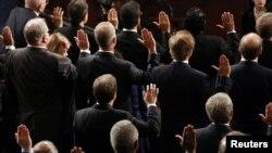 Sidang gabungan anggota Kongres AS menyatakan secara resmi Presiden Obama dan Wapres Biden memenangkan masa jabatan kedua.
