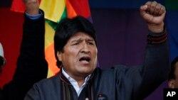 Boliviya prezidenti Ivo Morales