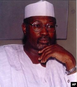 Professor Attahiru Jega, chairman Nigeria's Independent Electoral Commission.