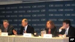 미 전략국제문제연구소(CSIS) 세미나에 참석한 미국의 한반도 전문가들