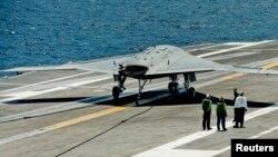 미 해군의 X-47B 무인기. (자료사진)