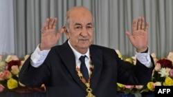 Le nouveau président algérien Abdelmadjid Tebboune, le 19 décembre 2019 à Alger. (Photo by RYAD KRAMDI / AFP)