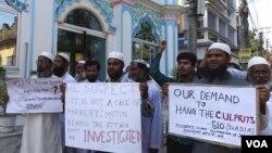 Người Hồi giáo tham gia cùng với người Công giáo biểu tình chống lại vụ hiếp dâm nữ tu 71 tuổi ở Ấn Độ.