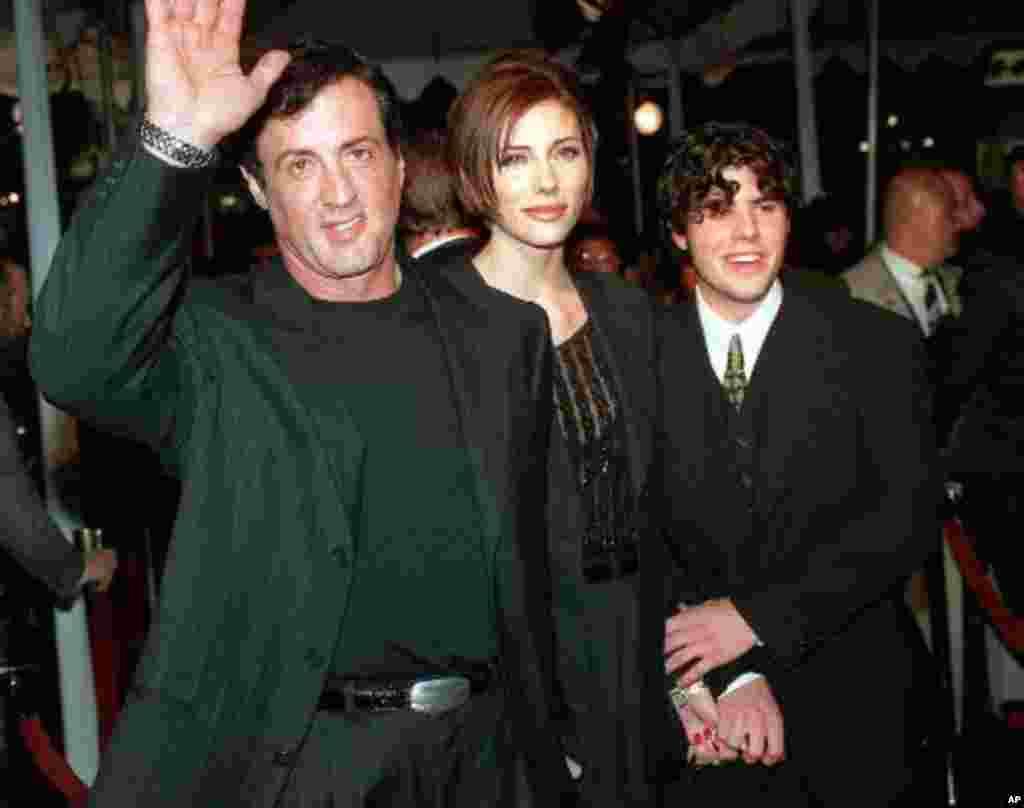 El hijo mayor de Silvestre Stallone, Sage, falleció de sobredosis el 13 de julio.