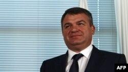 Міністр оборони Росії Анатолій Сердюков