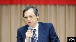 Taiwanese MAC Chief Chen Ming-tong