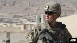 Binh sĩ Hoa Kỳ tuần tra tại Kandahar, phía nam thủ đô Kabul