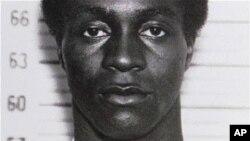 Foto de George Wright aquando da sua prisão em 1963