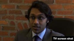 华盛顿市律师肖恩•苏库马尔 (视频截图)
