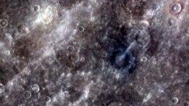 Des cratères de Mercure, photographiés par la sonde Messenger