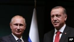 Rossiya va Turkiya rahbarlari Anqarada, 1-dekabr, 2014-yil