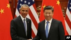 Predsednici SAD i Kine, Barak Obama i Ši Đinping