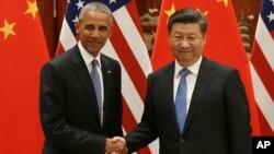 """""""Esta no es una lucha que ningún país, por muy poderoso que sea, puede tomar por sí solo"""", dijo Obama sobre el pacto."""