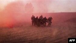 Американский патруль в Афганистане