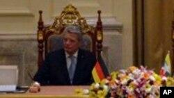 ျမန္မာျပည္ကို ခ်စ္ၾကည္ေရးခရီးေရာက္ေနတဲ့ ဂ်ာမနီသမၼတ Joachim Gauck (ေဖေဖာ္ဝါရီ ၁၀၊ ၂၀၁၄)