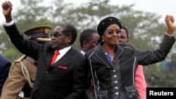 Zimbabwean President Robert Mugabe and his wife, Grace, were the only ones who were elected by acclamation at the just-ended 6th Congress.