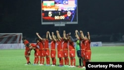 ျမန္မာအမ်ိဳးသမီးေဘာလံုးအသင္း (Myanmar Football Federation)