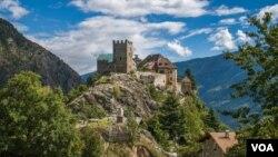 სამოთხე - ჯოჯოხეთამდე: მესნერის საცხოვრებელი სახლი იტალიაში