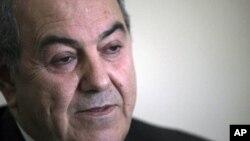 عکس آرشیوی از ایاد علاوی نخست وزیر پیشین عراق
