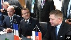 Le sommet de l'Union Européenne à Bruxelles.