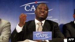 Guillaume Soro à Abidjan le 26 novembre 2004.