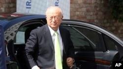 Tổng Giám đốc Cơ quan Nguyên tử năng Yukiya Amano.