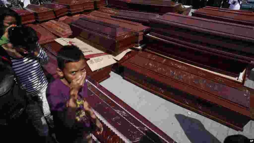 Sumatra a kasar Indonesia 1 ga watan Yuli, 2015. (AP/Binsar Bakkara)