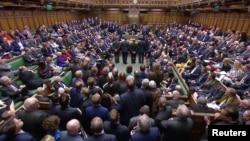Poslanici u britanskom parlamentu glasaju o Bregzitu, 13. mart 2019.