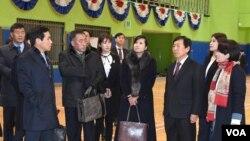 """Séoul présente de longue date ses JO comme des """"Jeux de la Paix"""" à même de faire retomber les tensions intercoréennes."""