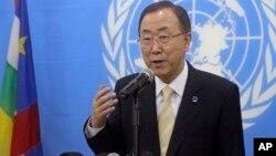Sakatare Janar na Majalisar Dinkin Duniya, Ban Ki-moon.