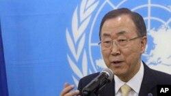 Ban Ki-moon s'est félicité de l'intervention rapide des forces de sécurité nationales somaliennes et de l'AMISOM