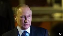 Shugaban Rasha, Vladimir Putin