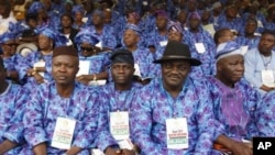 Wasu wakilan Jahar Ondo a Abuja