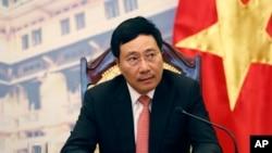 Phó Thủ tướng Việt Nam Phạm Bình Minh.
