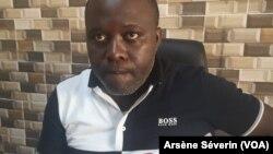 L'universitaire Vivien Manangou affirme que l'appel de Yhombi, à Brazzaville, le 11 décembre 2019. (VOA/Arsène Séverin)