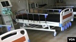 Hospitaalii Naqamtee fi Amboo namoota ala jiran irraa gargaarsa meeshaalee argate