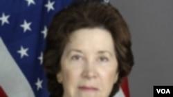 Dutabesar AS untuk Kairo, Margaret Scobey terus memantau situasi politik di Mesir.