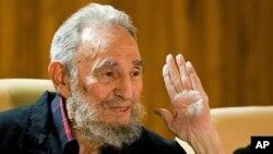 피델 카스트로 전 쿠바 국가평의회 의장. 지난해 2월 촬영한 사진이다.